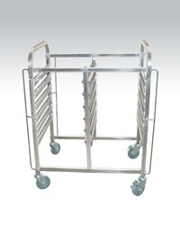 Stainless Steel GN Pans Trolley