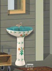 Designed Pedestal Washbasins