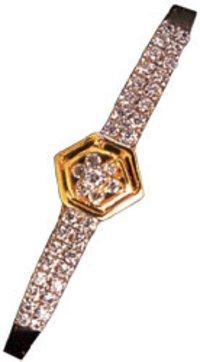 Diamond Studded Sleek Bangles