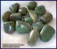 Ruby Zosite Tumble Stones