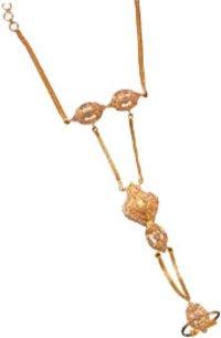 Sleek Gold Ring Cum Bracelets