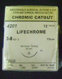 Chromic Catgut Absorbable Surgical Sutures