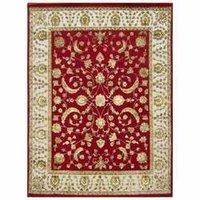 Colorful Wool-Silk Carpet