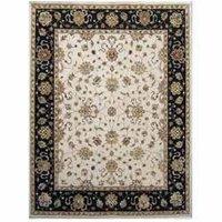Hand Woven Wool-Silk Carpet