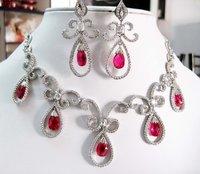 American Diamond Set (Jns 452-673 R Red)