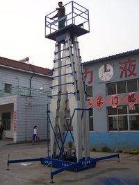 Double Mast Aluminum Lift