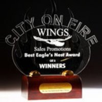 Customized Acrylic Trophies And Mementoes