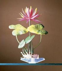 Penn Plax Red Water Lily