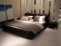 Leisure Genuine Leather Beds