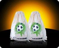 Cotton Drawstring Bag With Colorful Printing