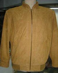 Men'S Suede Leather Jacket