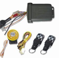 Multi-Function Motorcycle Alarm System With Silent Arm