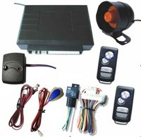 One Way Car Alarm System With Central Lock Built-In