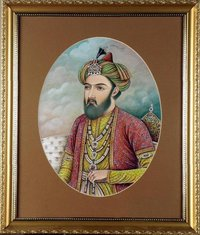 Emperor Nasiruddin Painting