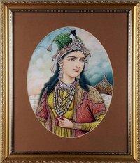 Hameeda Bano Begum Painting