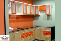 Over Head Modular Kitchen Cabinet