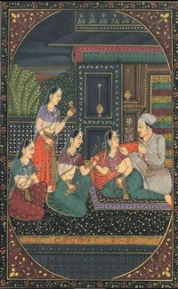 Paper Painting Moghul Love Group DS