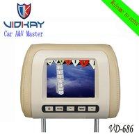 6 Inch Car Headrest Monitor