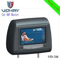 Car Headrest DVD Monitor