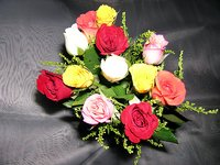 12Mix Roses/Red Roses