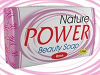 Nature Power Beauty Soap - Rose