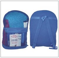 Mesh Backpack And Canvas Backing Bag