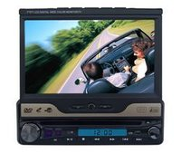 ONE DIN IN-DASH MOTORIZED TFT-LCD DVD PLAY