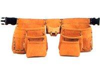 Split Leather Carpenter Apron 13 Pockets