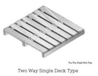 Two Way Single Deck Type Pallets