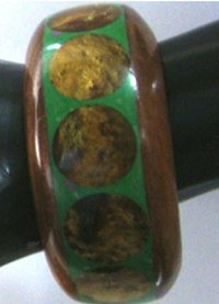 Resin & Wooden Costume Jewellery Bangles