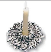 Silver Candle Stands