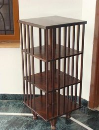 Rosewood Revolving Book Case