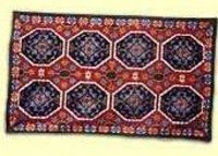 Ethnic Chain Stitched Rugs