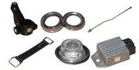 Aluminium, Acrylic & Electronic Parts