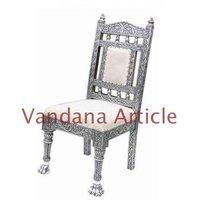 Antique Design Silver Chair