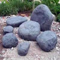 Fiberglass Rocks