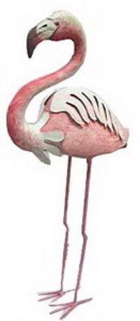 Standing Flamingo Sculpture