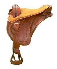 Soft Leather Treeless Saddle