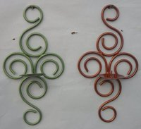 Wall Hanging Iron Candle Stands