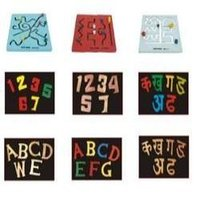 3d Alphabets And Construction Toys