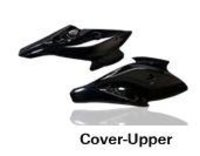 Injection Moulded Motorcycle Upper Cover