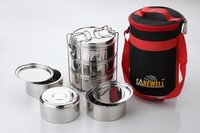 Stainless Steel Insulated Tiffin Box Casseroles And Hot Pot