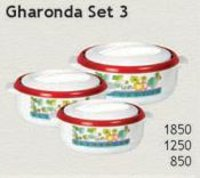 Gharonda Casseroles Set