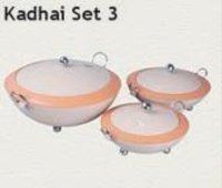 Kadhai Casseroles Set