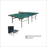 TB-503 One-Folded Portable Table Tennis Table
