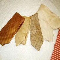 Hand Crafted Silk Fabric Made Ties