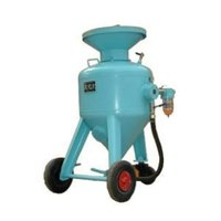 Sand Blast Pot Machine
