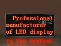 Single Color Led Message Display