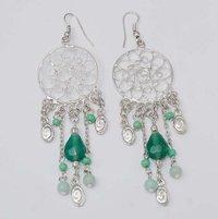 Sterling Silver Ethnic Earrings