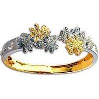Diamond Studded Gold Bracelet
